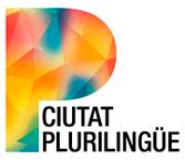 Ciutat Plurilingüe logo